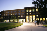 Night view of CSU American River project
