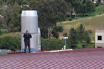 Exhaust stack retrofit at UC Irvine